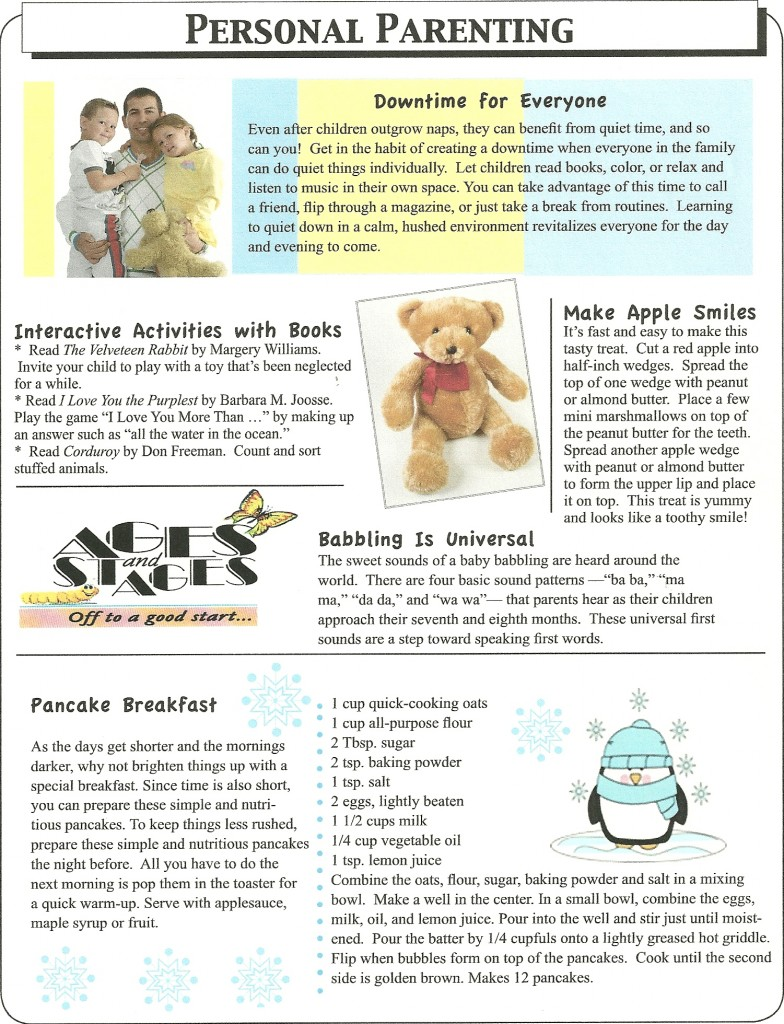 Parent pages Dec. 2013-2